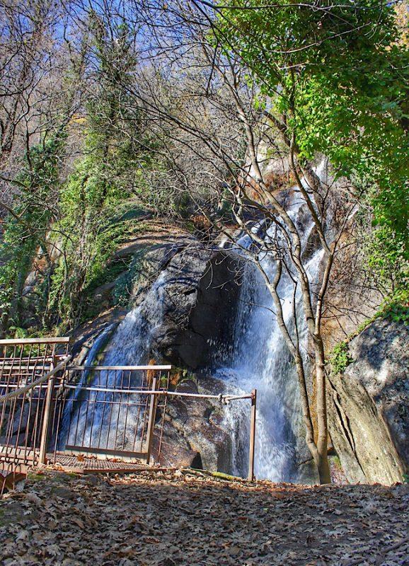 Ruta de las cascadas de Las Nogaledas