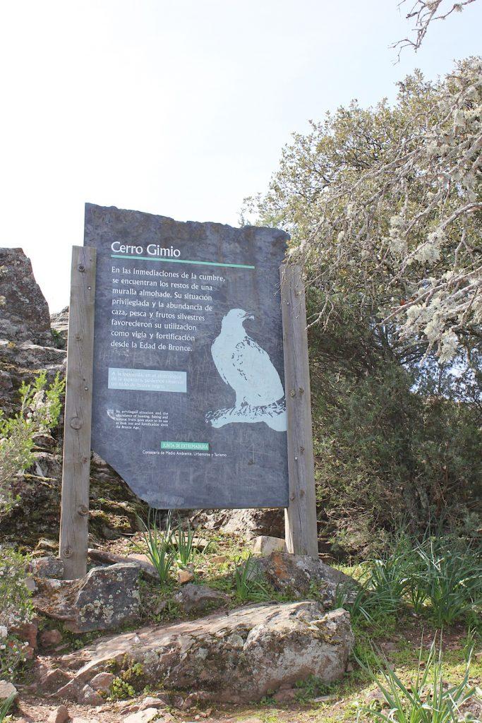 Ruta Monfragüe - Cerro Gimio