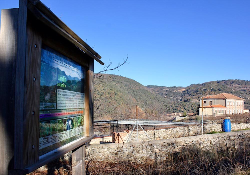Ruta de los miradores - Jardín botánico