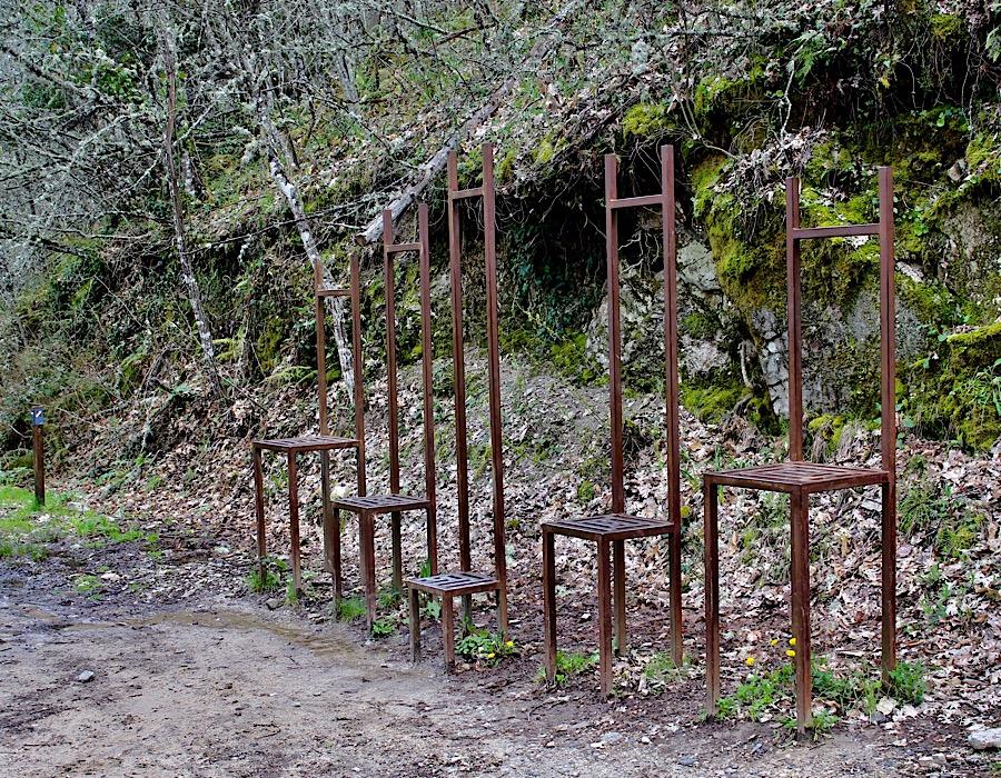 Ruta Camino del Agua - Arte con sillas