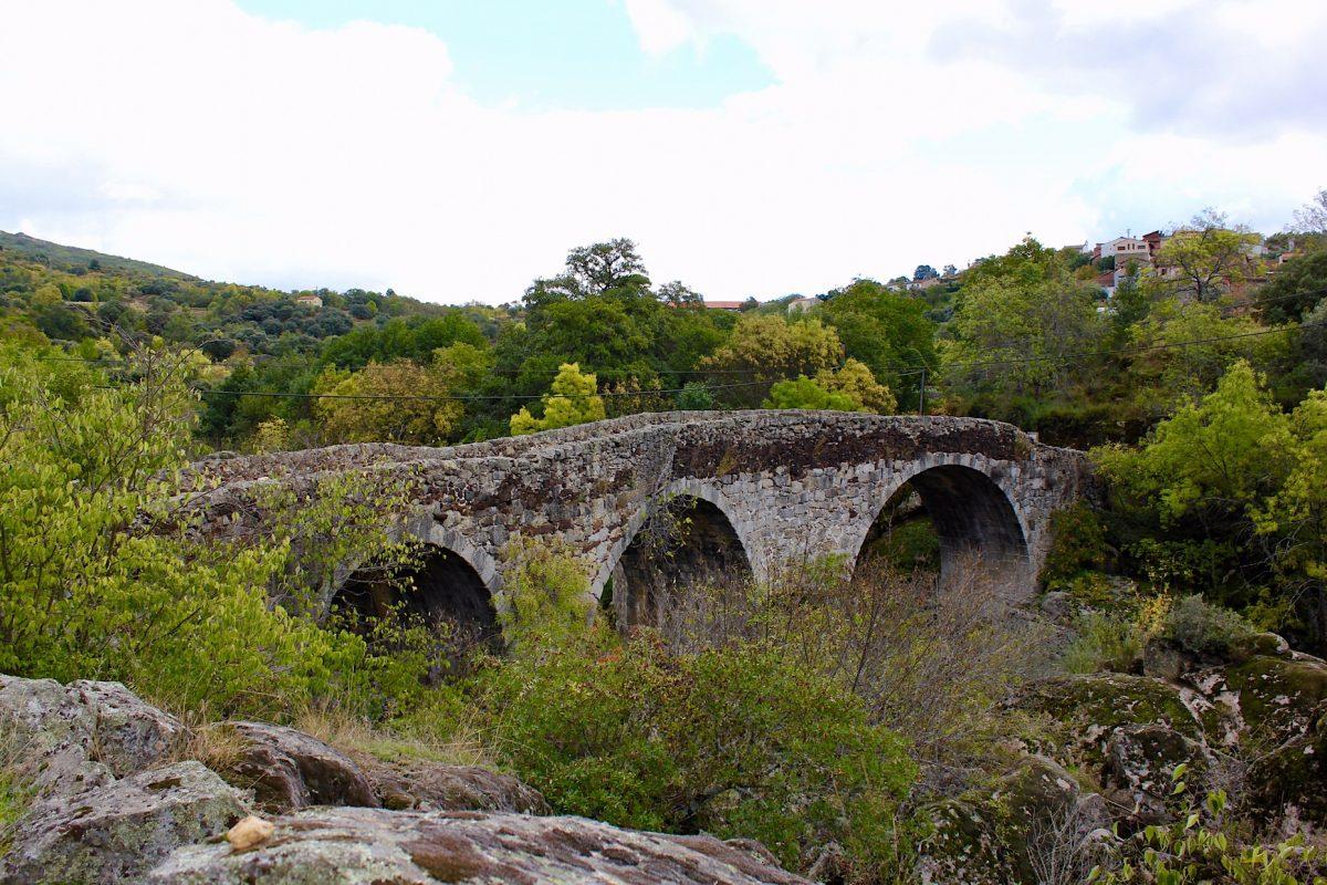 Ruta entre Valero y San Esteban de la Sierra