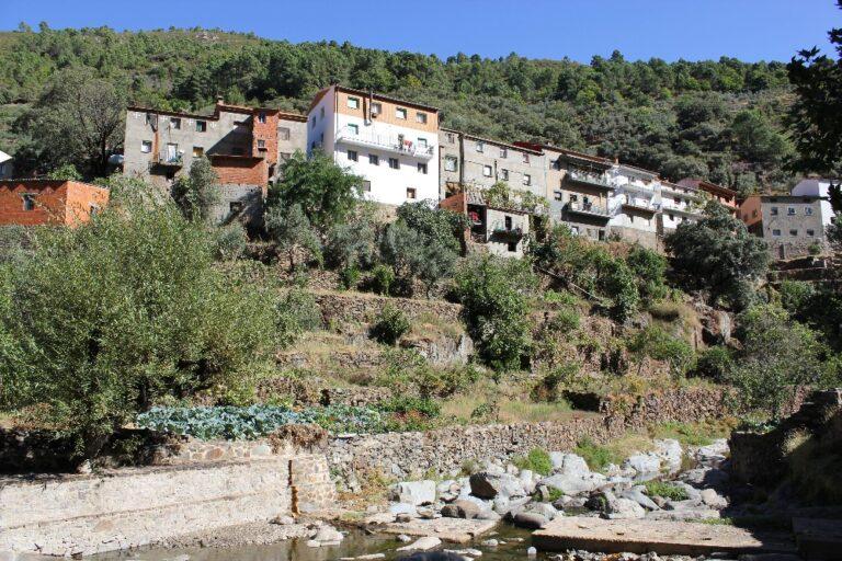El Chorro de la Meancera (Las Hurdes, Cáceres)