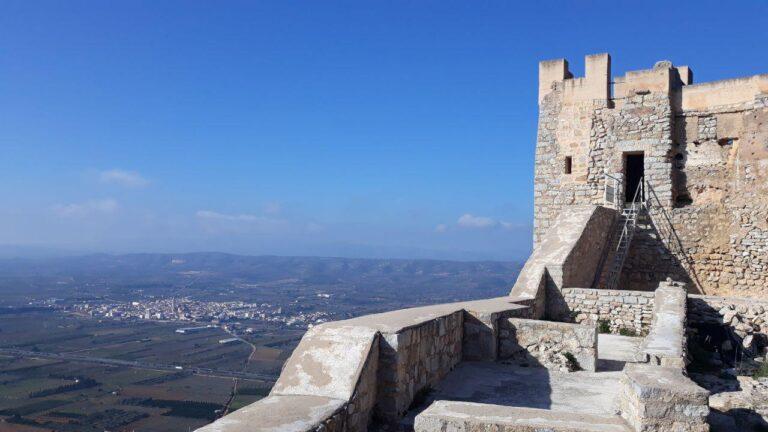 Castillo de Xivert, en la montaña de Xivert de Sierra de Irta