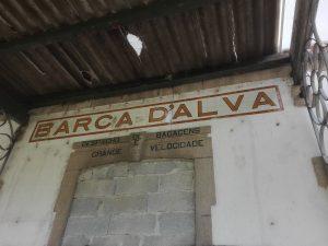 Estación abandonada de Barca d'Alva