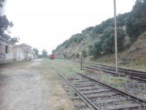 Estación abandonada de la fregeneda