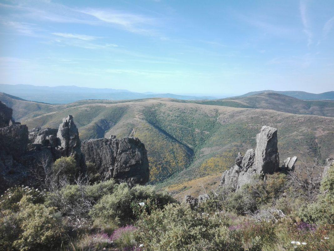 Sierra Quilamas desde La Cueva de la Mora