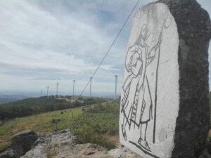 Peña de la Huerta cerca de Frades de la Sierra