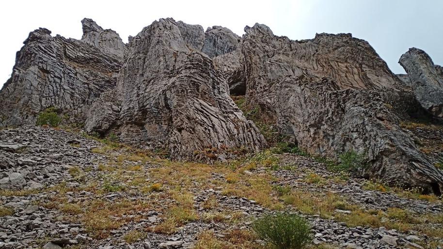 Roquedos del desfiladero de los Calderones