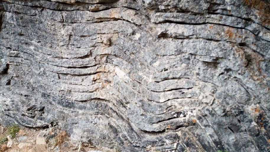 pliegues geológicos