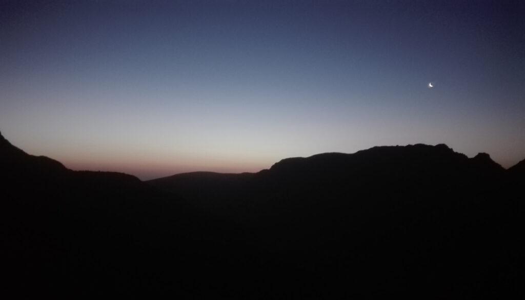 Amanecer en la Sierra de Gredos