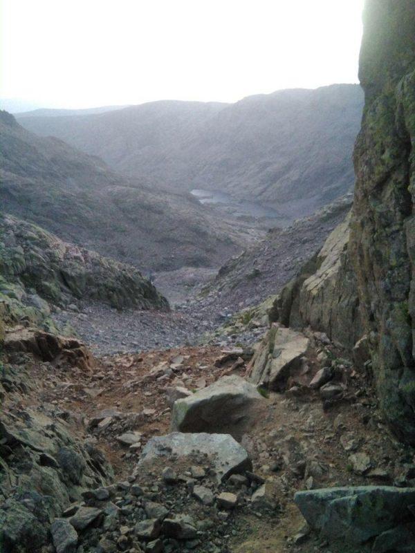 Cara norte del Canchal del Almanzor