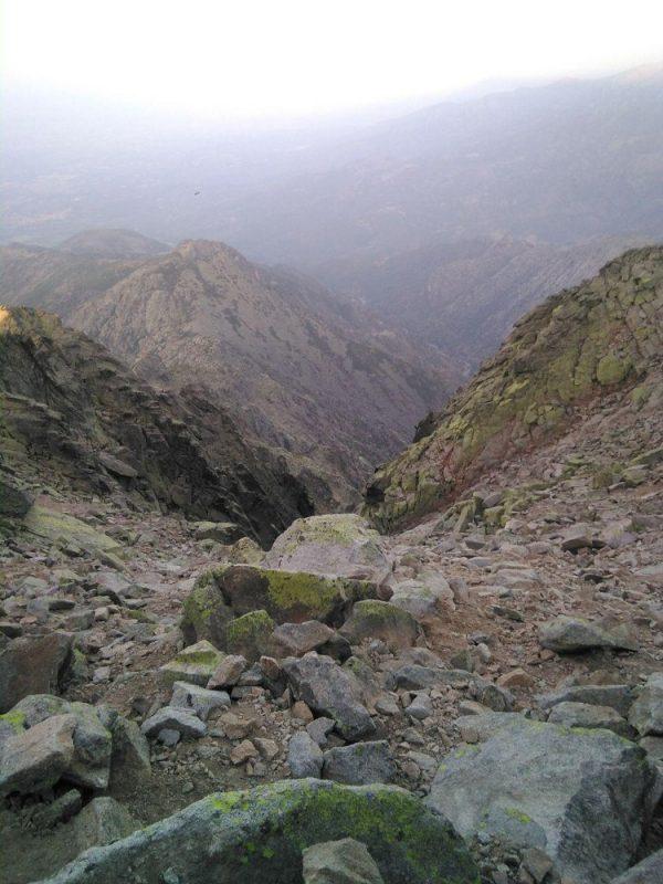 Cara sur del Canchal del Almanzor
