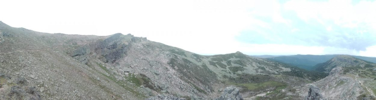 Panorámica Canchal de Picos de Urbión