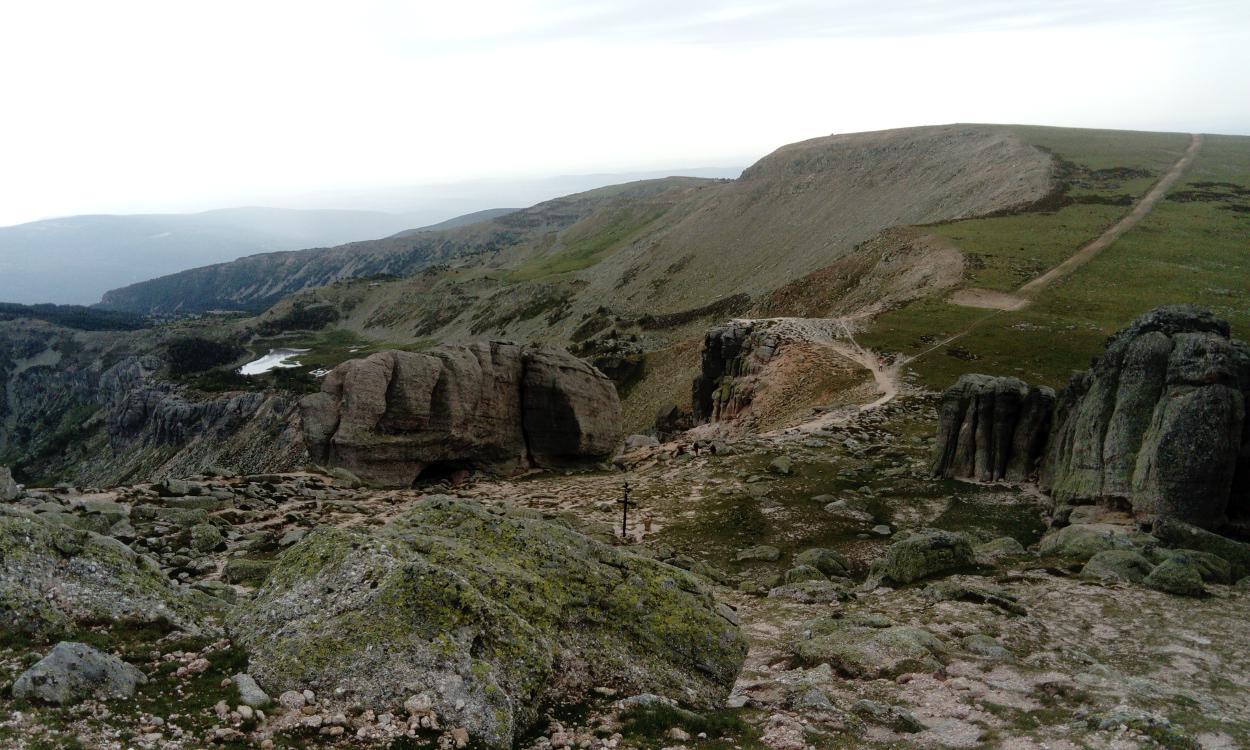 Vistas desde el pico Urbión