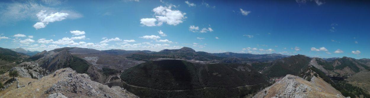 Vistas desde el Sardonal 180º