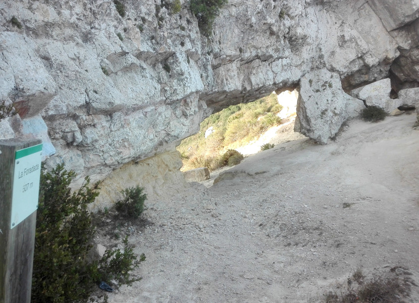 La Foradada - 507 metros
