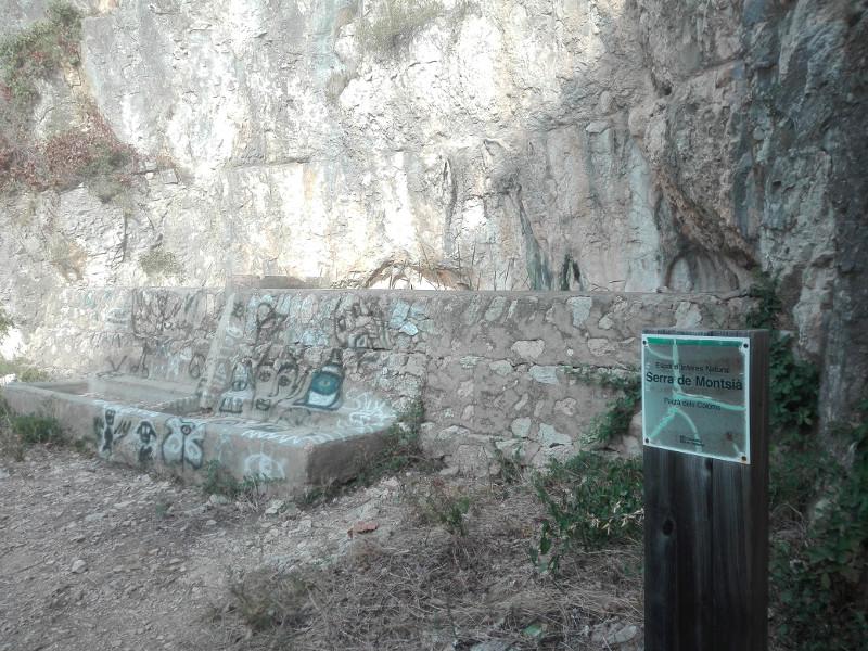 Pantà dels Coloms del Montsià