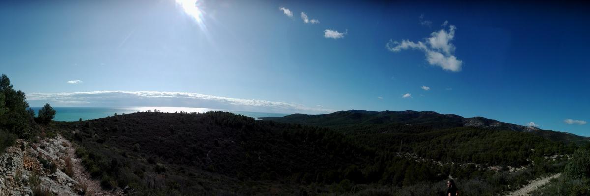 Panorámica Sierra de Irta