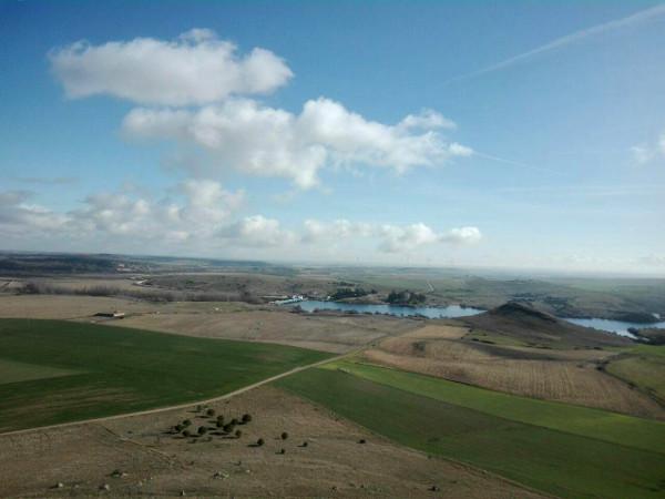 Vista del Azud desde el Castillo