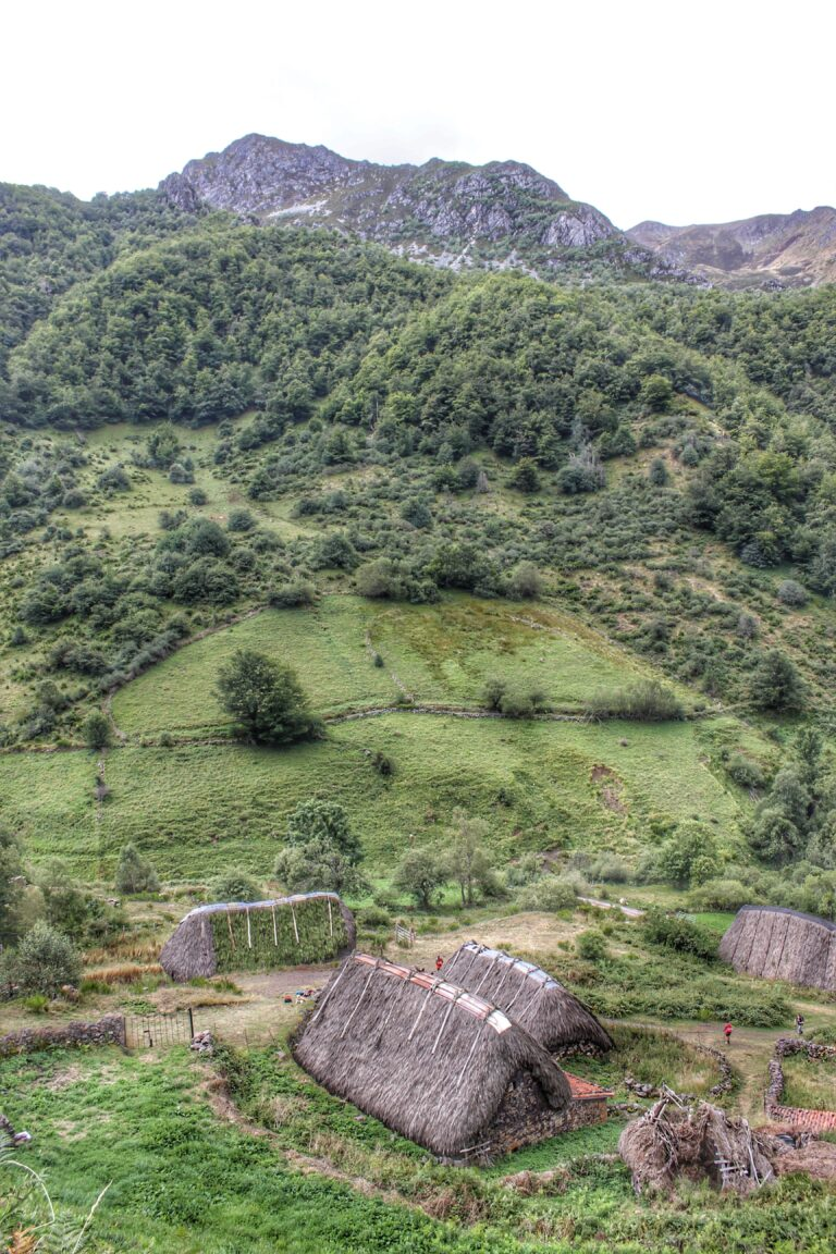 Braña de La Pornacal (Parque Natural de Somiedo, Asturias)