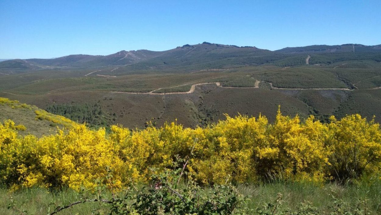 Panorámica de la Sierra de la Culebra