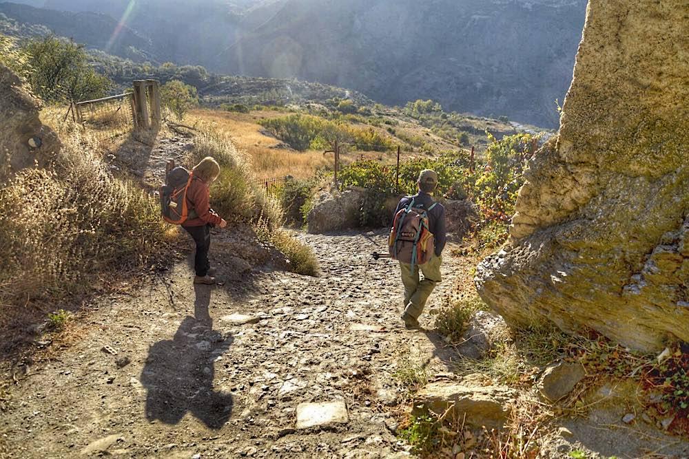 Sendero La Taha - Busquístar (Sierra Nevada)
