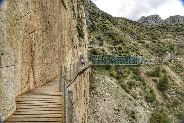 El Caminito del Rey en el Desfiladero de los Gaitanes (Ardales, Málaga)