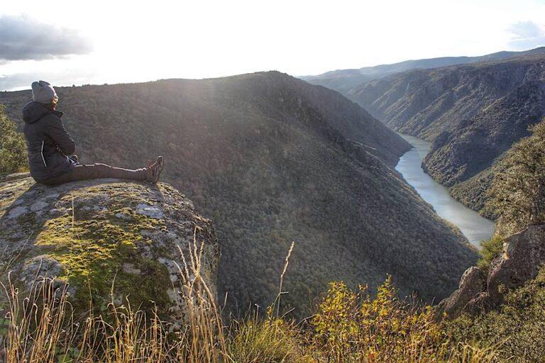 Miradores de Las Arribes del Duero desde Mieza