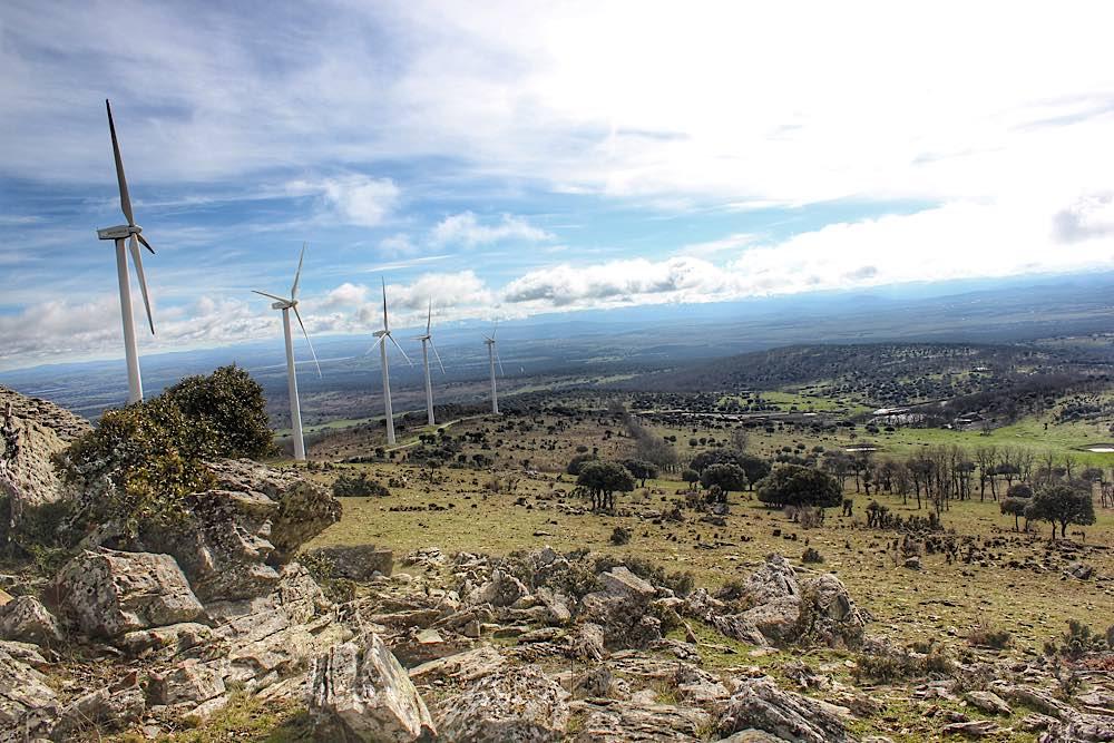 Panoramica de una ruta de Salamanca